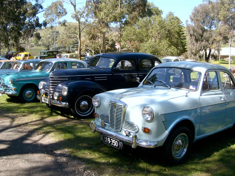 Old Car Day – Bethany Reserve