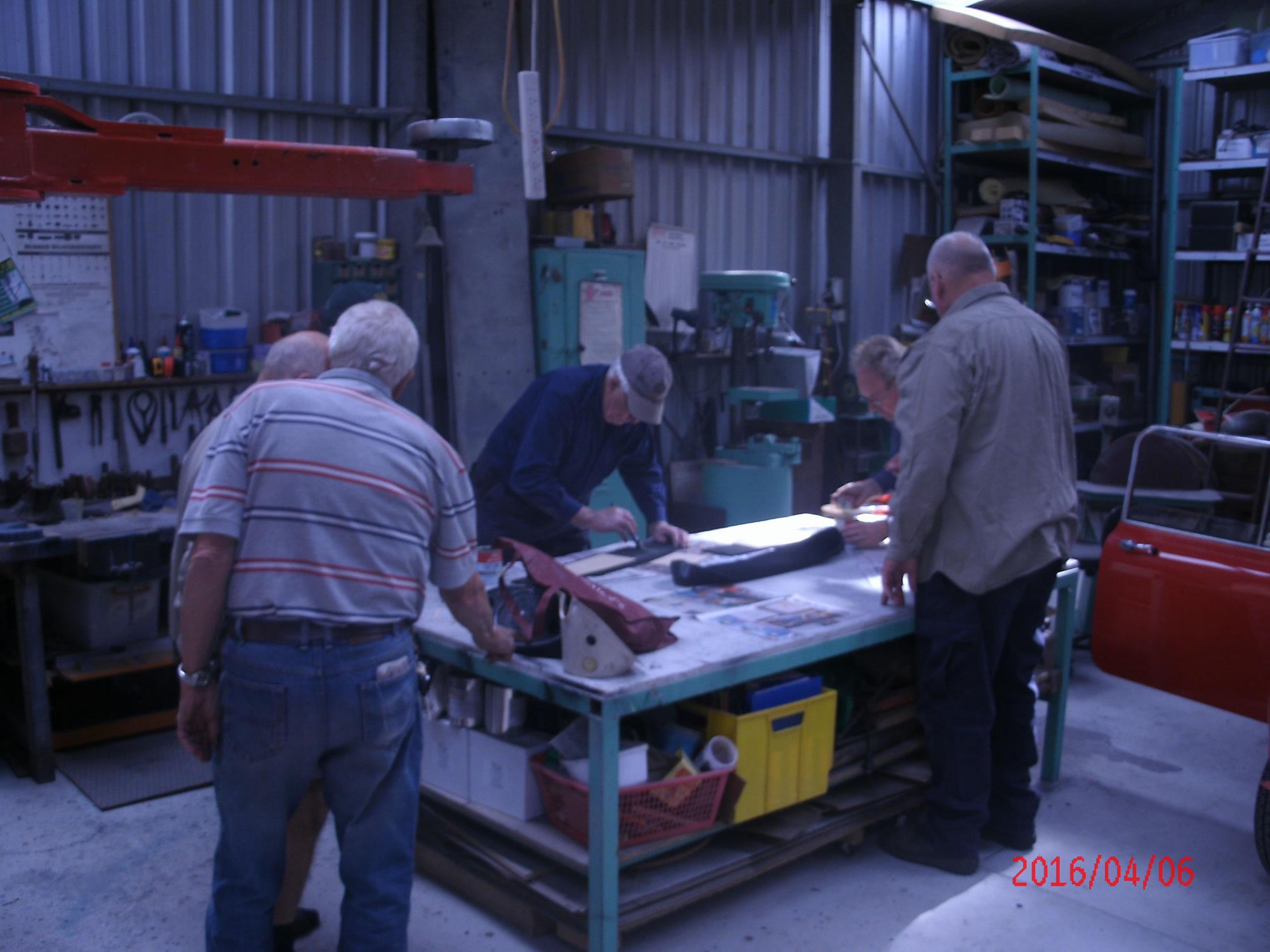 Morris Mini Restoration Workshop