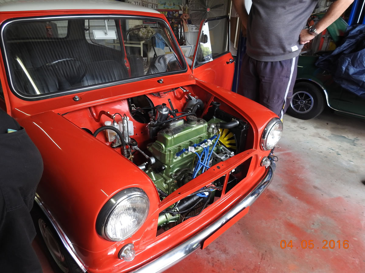 Morris Mini Restoration Workshop