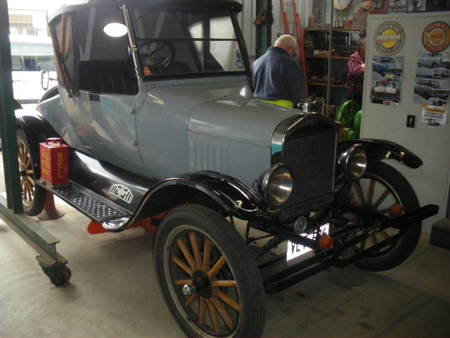 David's Ford Model T Coupe