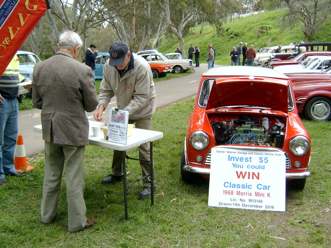 2016 Mini Raffle Result – Gawler Veteran, Vintage and Classic ...