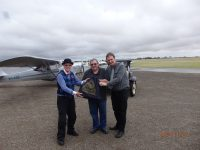 Re-enactment of the first Air Mail flight from Adelaide to Gawler